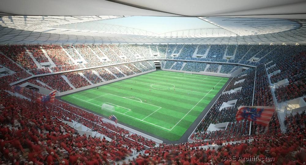 Nieuw stadion brugge